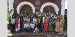 Leadership in Mental Health (class of 2015) poses with the Sangath team and LMH tutors in Goa.